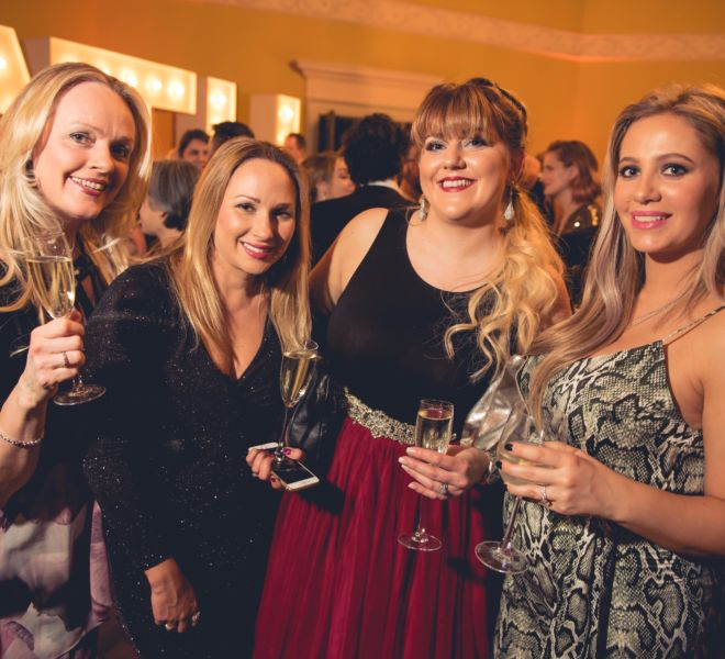 Amanda Brown (Flamingo), Kelly Marie, Zara Perry, Lisa Evans